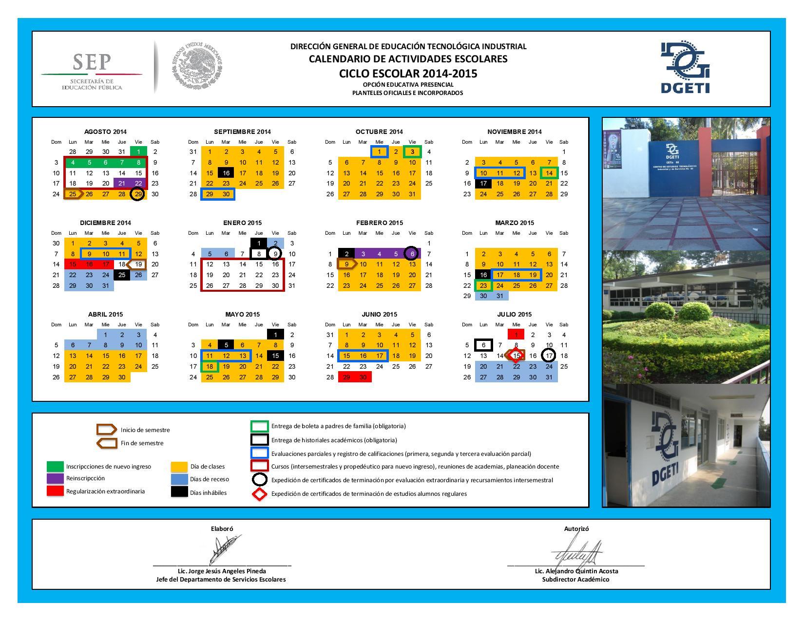 ciclo 2016 2017 sep educación primaria calendario escolar 2015 2016 ...