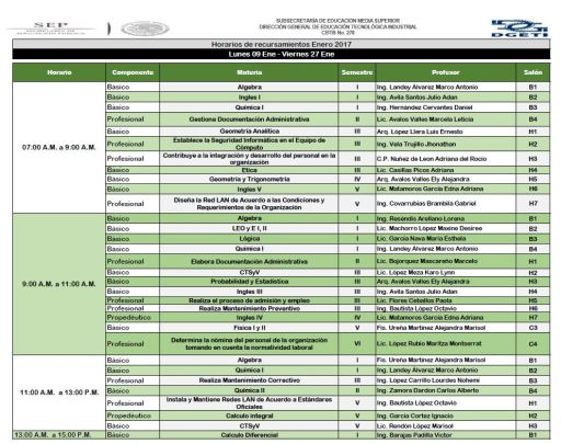 horarios-de-recursamientos-enero-2017