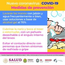 Coronavirus Postal 5 IMSS ISSSTE